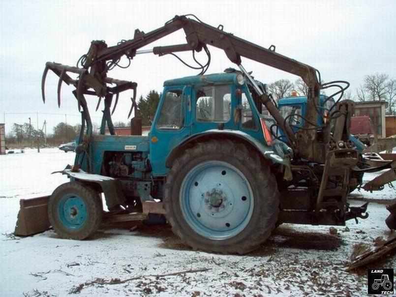 Погрузчик МТЗ, КУН на МТЗ, кун на трактор, погрузчик ПФ-08.