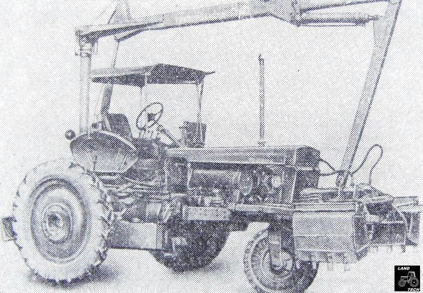 Грейферный погрузчик ПЭ-Ф-1БМ